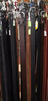 """Leather belts - Many styles - All sizes up to 60"""" Moncton New Brunswick Preview"""