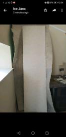 B & Q Nepata white stone effect composite worktop