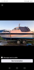 23ft Finn sport diesel boat