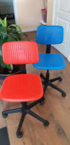 Two (2) Children's chairs (IKEA)