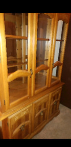 China Cabinet/ Antique Hutch