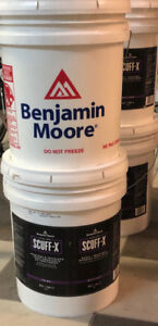 20L- Benjamin Moore paint (floral white)