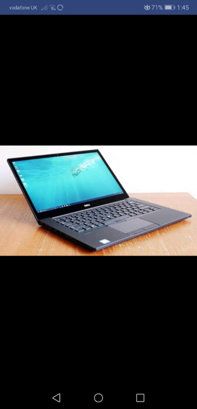 Dell latitude 7480 i5 6th gen £1000 new in shops my price £275 | in  Fishermead, Buckinghamshire | Gumtree