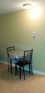 $800 incl parking • 1 BR apartment •  No lease •  Downtown Hull