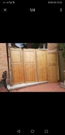 New old pine doors