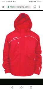 Bauer Hockey Winter Jacket Brand New