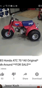 Wanted honda atv 70