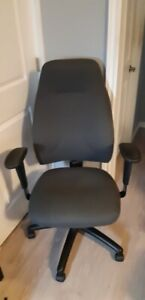 Ikea Desk and Captain Chair for sale