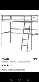 IKEA Loft bed frame only, £50