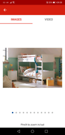 Brand new bunk beds and two brand new mattresses