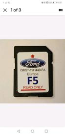 GENUINE Ford F5 Sat Nav Card