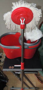 Spin Mop & Bucket System, Detachable Spinning Basket