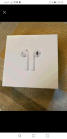 Air pods 2nd gen like new