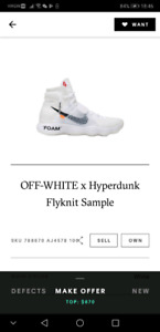 Off White x Hyperdunk