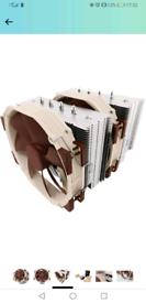 Noctua NH-D14, Premium CPU Cooler with 2x NF-A15 PWM 140mm Fans (Brown