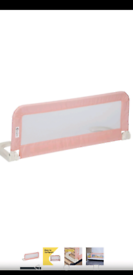 Pink Portable Bed Rail