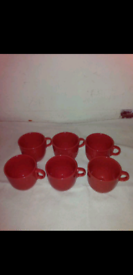 6 Ikea large cups (brand new).