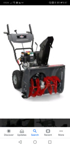 Briggs & Stratton 208cc 24-in Two-Stage Gas Snow Blower