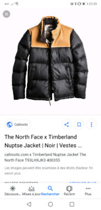 THE NORTH FACE X TIMBERLAND RARE!! nupste xl size