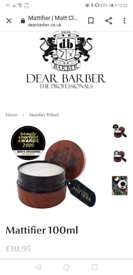 Dear barber products