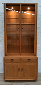 Ercol Windsor Cabinet Over Sideboard (DELIVERY AVAILABLE)
