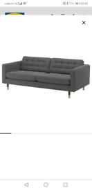 IKEA LANDSKRONA 3 SEATER SOFA NEARLY NEW