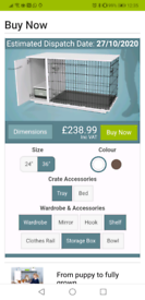 Omlet Fido Dog Crate