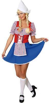 Holländerin Kostüm Frau Antje Tracht Dirndel Holländer Holland Hollandkostüm Hut