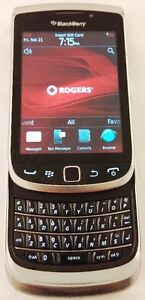BlackBerry Torch 9810 Silver Rogers/CHATTER Smartphone Qwerty Kitchener / Waterloo Kitchener Area image 1