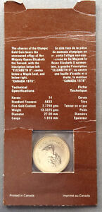 1976 Canadian Olympic $100 Gold Coin Kingston Kingston Area image 2