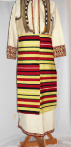 Macedonian Womans Costume - Kichevo