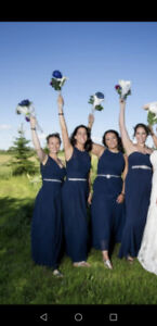 3 bridesmaid dresses