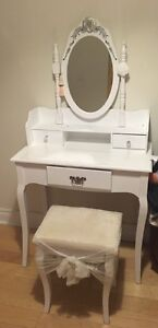 Make up table and stool for sale