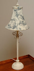 White French Style Table Lamp