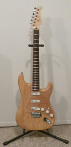 Raven West Stratocaster with Bare Knuckle Sinner pickups