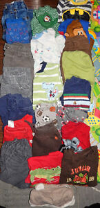 Lot of 22 items - Baby BOY clothes - 6 to 12 months old
