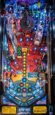 PLAY FIELD NOS Stern Star Trek Pro  Playfield Pinball Machine