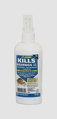 >> JT Eaton KILLS BED BUGS II Spray Fleas Ticks Spiders Kills On Contact NEW 6oz
