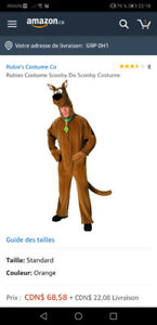Costume de Scooby Doo pour adulte