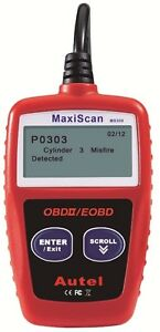 MaxiScan OBDII Code Reader