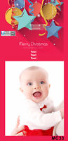 Customized Christmas Card with your photo starting at $0.89
