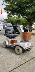 Shoprider Sprinter All-Terrain 4-Wheel Scooter Like New  !!
