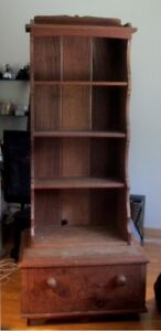 Vintage shabby chic, Hope Chest and shelf tower...