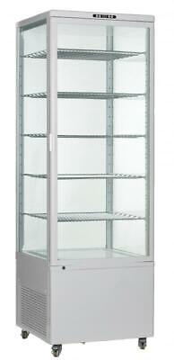 Omcan 34874 26-inch White Refrigerated Vertical Display Case Cake Rs-cn-0500