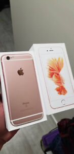 ROSE GOLD Iphone 6S 64 GB UNLOCKED - $370 FIRM