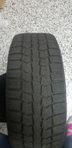 VW Winter tires 215/65R/15 with rims
