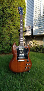 2008 MINT GIBSON SG STANDARD NATURAL WITH OHSC