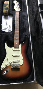 Deluxe Model Fender Strat LH Lefty Left handed lh