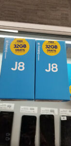 SAMSUNG GALAXY J8 64GB UNLOCKED PHONE BRAND NEW