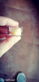 Bees wax and peppermint balm